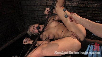Sex and Submission Dia Zerva Bondage dominated woman anal rough sex